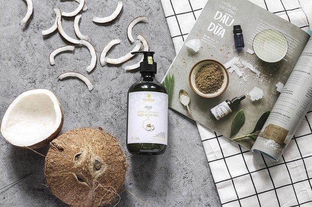 olejki i inne kosmetyki do włosów